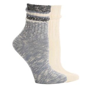 HUE Spacedyed Sporty Boot Socks 2 Pair
